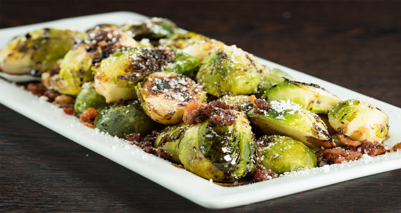 Image of blistered brussel sprouts