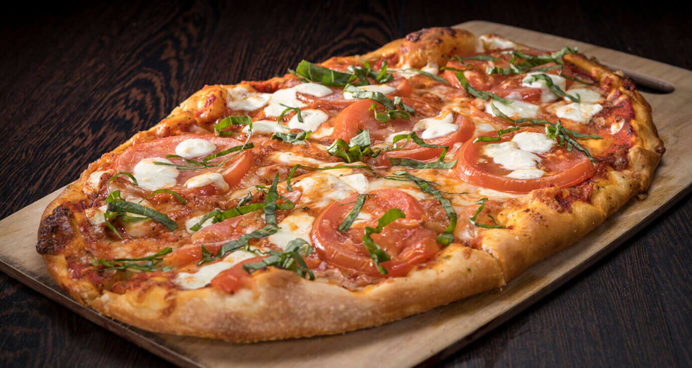 Image of margherita pizza
